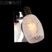 Настенный светильник 60301/1*40Вт. хром/венге  Е14