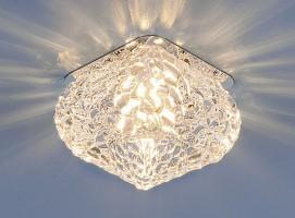 Светильник 8506 G9  хром/прозрачный