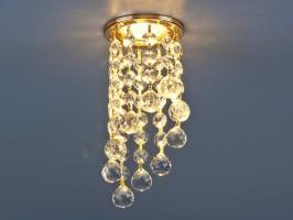 Светильник 205 С-C KF MR16 золото/прозрачный хрусталь (GD/WH)