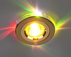 Светильник 2060/2 золото/мультиподсветка (GD/7-LED) SC