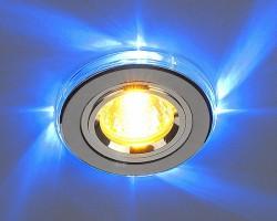 Светильник 2060/2 хром/синяя подсветка (SL/LED/BL) SC
