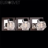 Настенный светильник 20140/3*40Вт.  хром/венге  G9