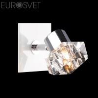 Настенный светильник 25332/1*40Вт.  хром\ белый  G9