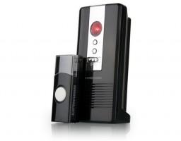 Звонок беспроводной 06М DBQ WL 36мелодий черн. (80м) IP44