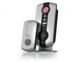 Звонок беспроводной 07М DBQ WL 36мелодий серебр. (100м) IP44