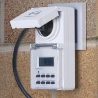 Розетка-таймер ТМН-Е-6 16А IP44 3.6Квт