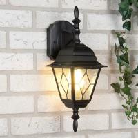 Уличный светильник Vega D черный (стена) Е27 1*60W