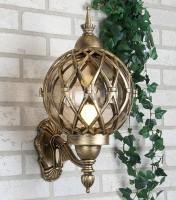 Уличный светильник Sirius U черное золото  (стена) Е27 60W