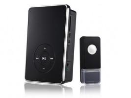 Звонок беспроводной 09М DBQ WL MP3 16мелодий черн. (200м) IP44