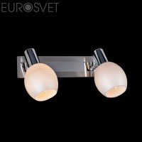 Настенный светильник 20121/2  хром-сатин/никель