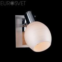 Настенный светильник 20121/1*40Вт. хром-сатин/никель Е14