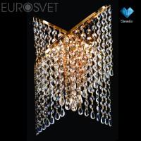 Настенный светильник 3105/3 золото/прозрач.хрусталь