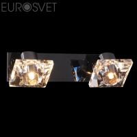 Настенный светильник 25331/2*40Вт. хром/черный  G9