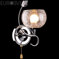 Настенный светильник 3457/1H хром/белый
