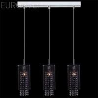 Подвесной светильник 1180/3 хром/черный 60Вт. Е14