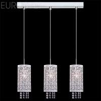 Подвесной светильник 1181/3 хром/белый 60Вт. Е14