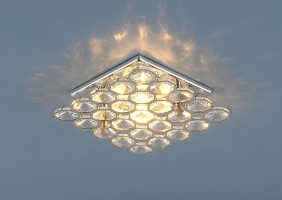 Светильник 7235 хром/прозрачный (GH/WH)
