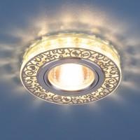 Светильник 6034 MR16 CH/CL хром/прозрачный 50Вт