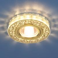 Светильник 6034 MR16 GD/CL золото/прозрачный 50Вт