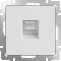 Телефонная розетка RJ-11 (белая) /WL01-RJ-11