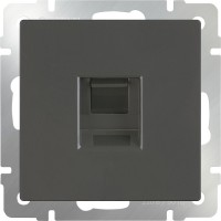 Розетка Интернет RJ-45 (серо-коричневый) /WL07-RJ-45