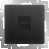 Телефонная розетка RJ-11 (черный-матовый) /WL08-RJ-11