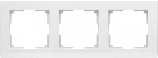 Рамка на 3 поста (белый) STARK/WL04-Frame-03-white