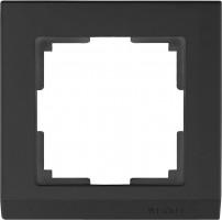 Рамка на 1 пост (черный) STARK/WL04-Frame-01-black