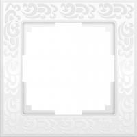 Рамка на 1 пост (белый)  FLOCK/WL05-Frame-01-white