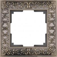 Рамка на 1 пост (бронза) ANTIK/WL07-Frame-01