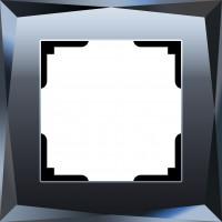 Рамка на 1 пост (черный) DIAMANT/WL08-Frame-01