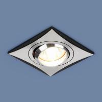 Светильник 5108 MR16 CH/BK хром/черный