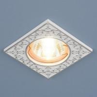 Светильник 120071 MR16 белый/серебро