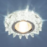 Светильник 6037 MR16 зеркальный/серебро