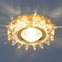 Светильник 6037 MR16 зеркальный/золото