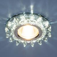 Светильник 6037 MR16 сапфир/хром