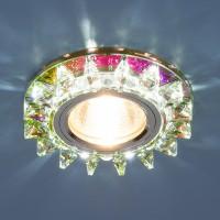 Светильник 6037 MR16 мульти/хром