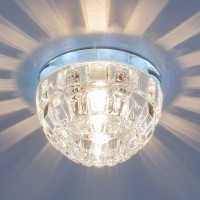 Светильник 7246 G9 хром/прозрачный