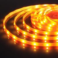 Лента светодиодиодная 12V 30Led 7,2W IP65 оранжевый