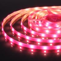 Лента светодиодиодная 12V 30Led 7,2W IP65 розовый