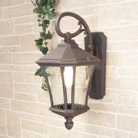 Уличный светильник Virgo D капучино (стена) Е27 60W