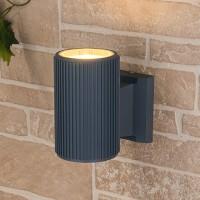 Уличный светильник Techno 1404 серый (стена) Е27 1x60W