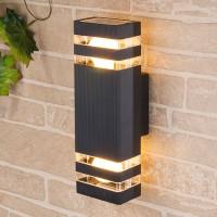 Уличный светильник Techno 1449 черный (стена) Е27 2x60W