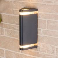 Уличный светильник Techno 1484 черный (стена) Е27 2x60W