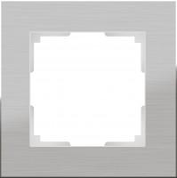 Рамка на 1 пост (алюминий)  ALUMINIUM/ WL11