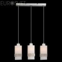 Подвесной светильник 50021/3 белый с золотом