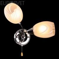Настенный светильник 2275/2 хром