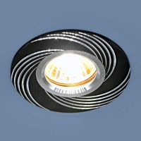 Светильник 5156 MR 16 черный (ВК)