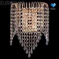 Настенный светильник 10026/2 золото/прозрачный