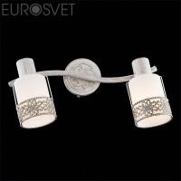 Настенный светильник 20025/2 белый с золотом